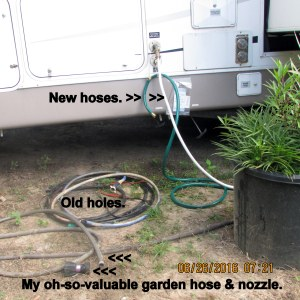 Swapped out hoses