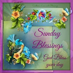 Sunday blessings (poster)