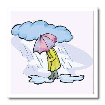 Umbrella and rain