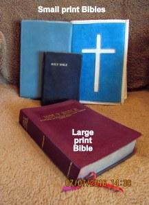 Several Bibles