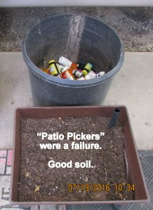 Patio Pickers were a failure