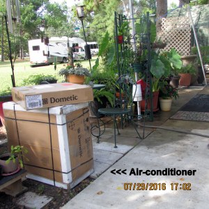 Air-conditioner arrived