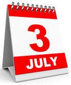 July third