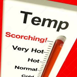 Temperature scorching