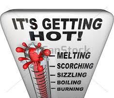 Thermometer It's Getting Hotter