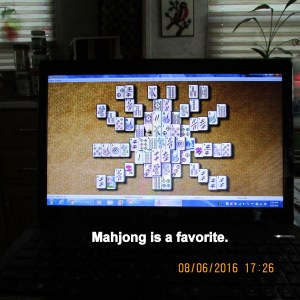 Mahjong is a favorite