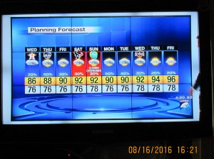TV weather