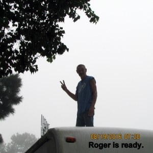 Roger is ready