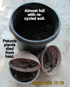 Recycled soil