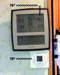 Seventy-eight degrees