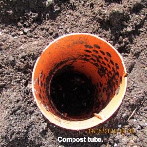 Compost tube