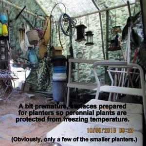 Reorganizing tarp shelter (3)