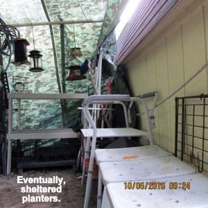 Reorganizing tarp shelter (4)