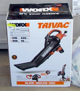 Blower/vacuum/mulcher