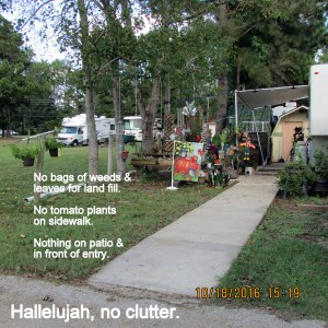 Hallelujah no clutter