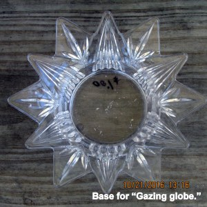 Base for gazing globe (1)