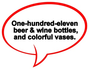 One-hundred-eleven bottles
