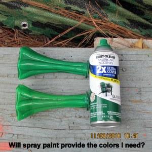 Will spray paint work