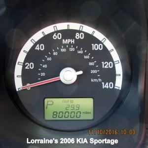 80,000 miles on KIA
