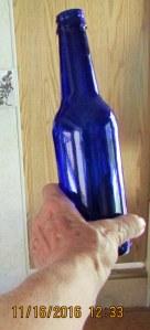 One more blue bottle