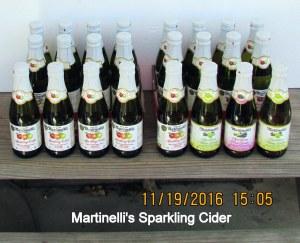 Martinelli's sparking cider