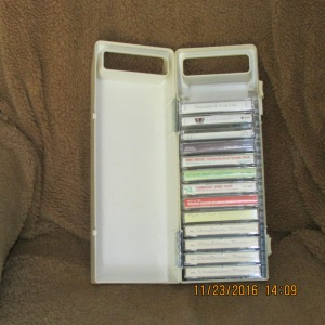 Christmas music tapes