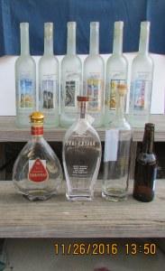 """Ten """"gift"""" bottles"""