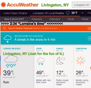 AccuWeather for Livingston, New York