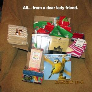 All from a dear lady friend