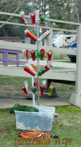 "Not a ""Christmas"" Bottle Tree"