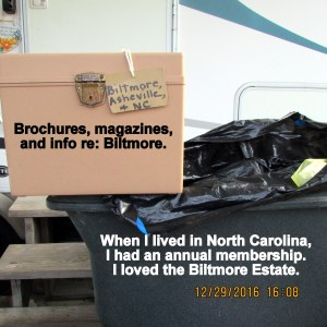 Biltmore brochures