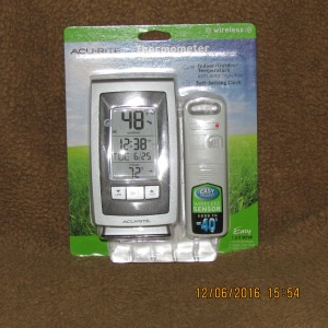 New thermometer