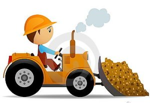 bulldozer-with-cartoon-character-driver