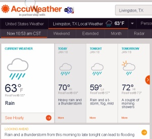 AccuWeather at eleven