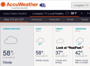 AccuWeather at two-thirty