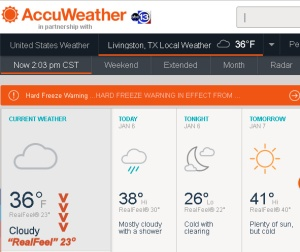 AccuWeather at two PM