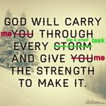 god-will-carry-me-through-poster-png
