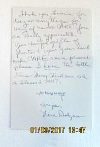 Card from Nina