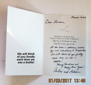Card from volunteers (2)