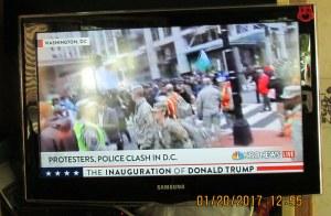 Rioting in Washington