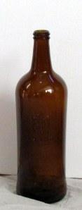 Brown Rum bottle (indoors)