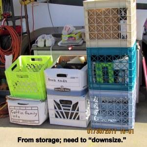 Stuff from storage
