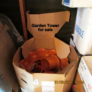 Garden Tower in the box