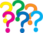 question-marks-in-several-colors