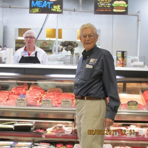George in meat department