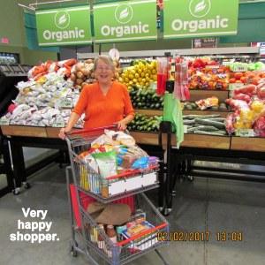 Lorraine in organics veggie department