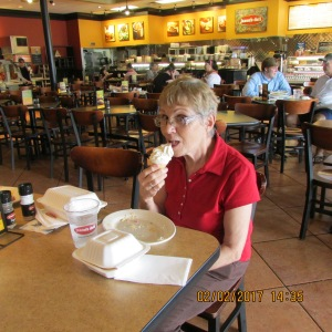 Grayce with ice cream cone