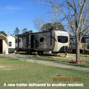 Ron's new trailer set up