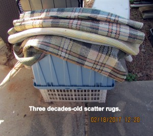 Old scatter rugs