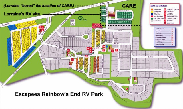 Escapees Rainbow's End RV Park
